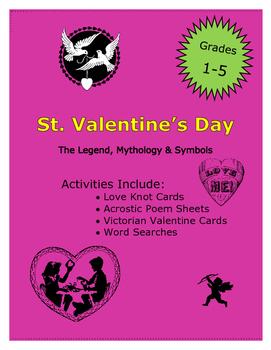 Valentine's Day Activities: The Legend, Mythology & Symbols