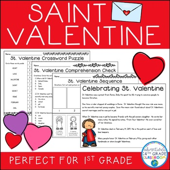 Valentine's Day Activities: The Story of St. Valentine