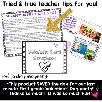 Valentine's Day Activities .Valentine Card Scrapbook! Sorting, Graphing, Reading