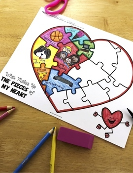 Valentine's Day Activities and Glyphs: Valentine's Day Crafts, Writing and more!