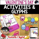 Valentine's Day Printable & Digital Activities, Crafts, Wr