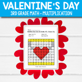 3rd Grade Valentines Day Math Activities fun multiplication worksheets