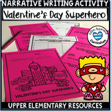 Valentines Day Writing and Coloring Project
