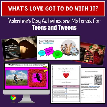 Valentine's Day Activities for Middle School and High School Students