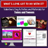 Valentine's Day Activities for Middle School and High Scho