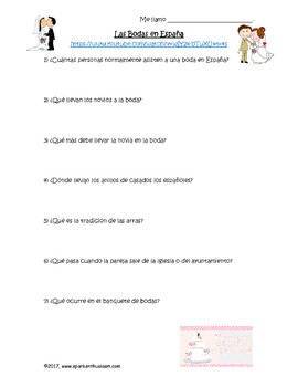 Valentine's Day Activities in Spanish for Intermediate - Advanced Students
