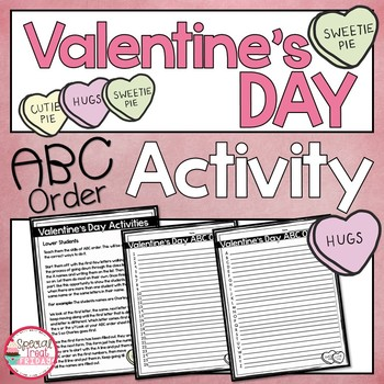 Valentine's Day Activity ABC Order