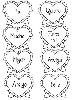 Valentine's Day Activity For Spanish Students!
