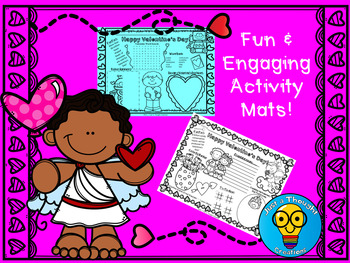 Valentine's Day Activity Mats - Holiday - February