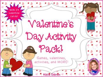 Valentine's Day Activity Pack!