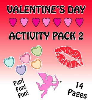 Valentine's Day Activity Pack 2