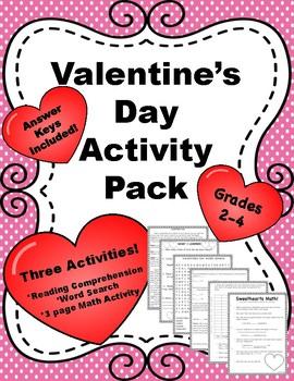 Valentine's Day Activity Pack