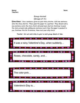 Valentine's Day Activity Pack! Grades 3-5