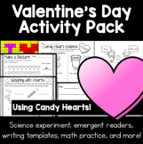 Valentine's Day Activity Pack - Math, Reading, Writing, Ex