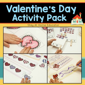 Valentine's Day Activity Pack for Preschoolers
