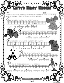 Valentine's Day Activity Packet (Ages 9-12)
