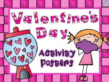 Valentine's Day Activity Posters