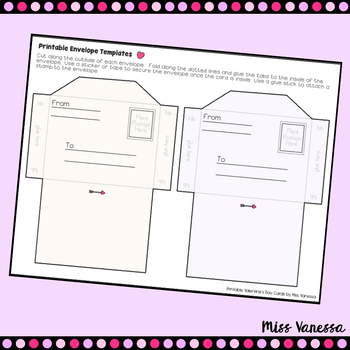 Printable Valentine's Day Cards + Postage Stamps & More