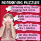 Valentine's Day Activity - Reasoning Puzzles Bundle (4th Grade All Difficulties)