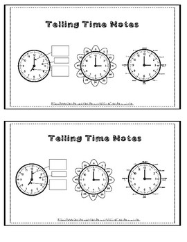 Telling Time to the Nearest Five Minutes Riddle Worksheet NO PREP