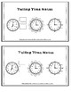 Telling Time to the Nearest Five Minutes Worksheet with Reference Sheet