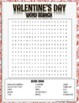 Valentine's Day Activity: Word Search!