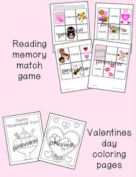 Valentine's Day Activity pages