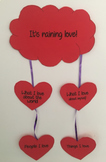 Valentine's Day Activity (template, instructions and full