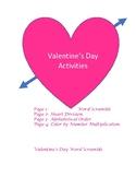 Valentine's Day Actvities