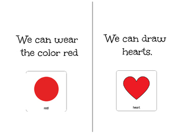 Valentine's Day-Adapted Book