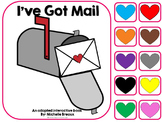 Valentine's Day Adapted Book- I've Got Mail- {Autism, Early Childhood}