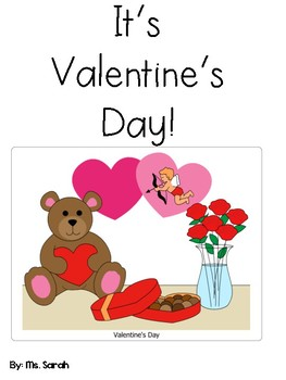 Valentine's Day Adapted Book- Preschool