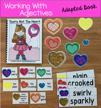 """Valentine's Day Adapted Book:  """"That's Not the Heart"""""""