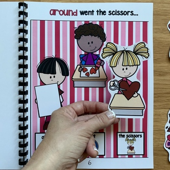 """Valentine's Day Adapted Book:  """"The Very Busy Day"""""""