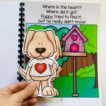 "Valentine's Day Adapted Book: ""Where is the Heart?"""