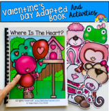 """Valentine's Day Adapted Book: """"Where is the Heart?"""""""