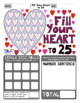 Fill Your Heart Addition and Subtraction Math Game