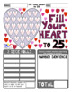 Fill Your Heart to 25 Math Games