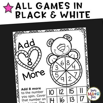 Valentine's Day Addition Games - Build Fact Fluency!