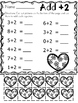 Valentine's Day Addition Practice Printables