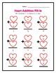 Valentine's Day Addition & Subtraction Set