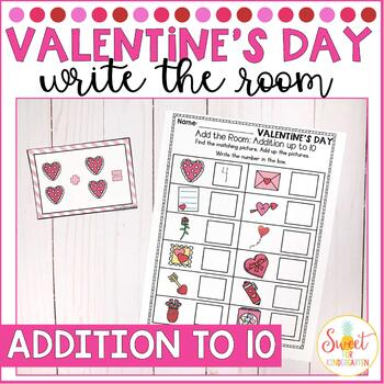 Valentine's Day Addition Write the Room