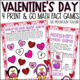Valentines Day Math Activities   Addition and Subtraction