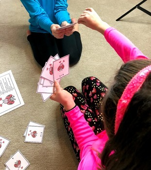 Valentine's Day Addition and Subtraction Math Games