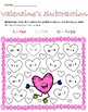 Valentine's Day Addition and Subtraction Worksheet