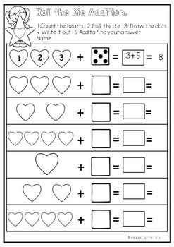 Valentine's Day Addition to 10 Freebie.