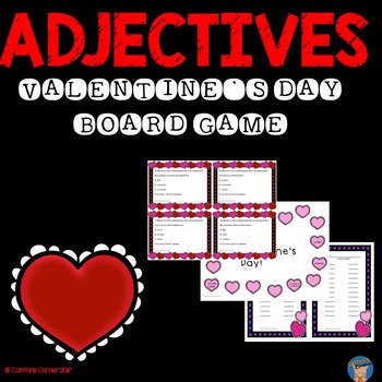 Valentine's Day Adjective Game