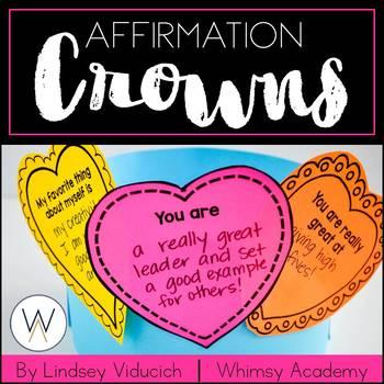 Valentine's Day Affirmation Crowns