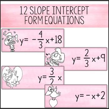 Valentine's Day Algebra Activity