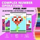 Valentine's Day: Algebra Complex Numbers Pixel Art Mystery